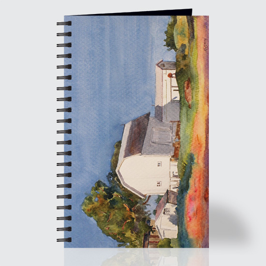 Watercolor Barn - Journal - Front