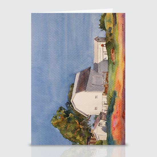 Watercolor Barn - Greeting Cards