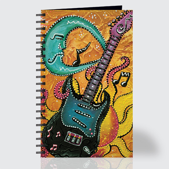 Celestial Guitar - Journal - Front