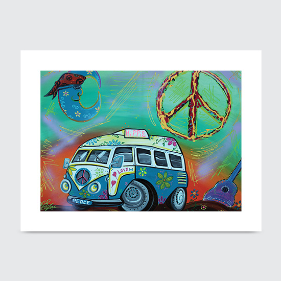Hippie Trip - Art Print