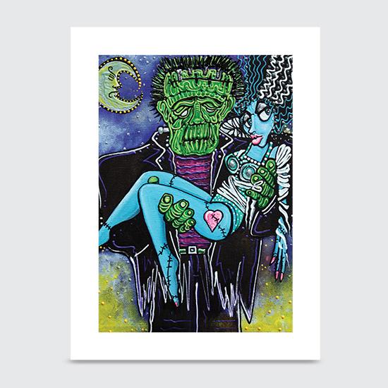 My Monster My Bride - Art Print