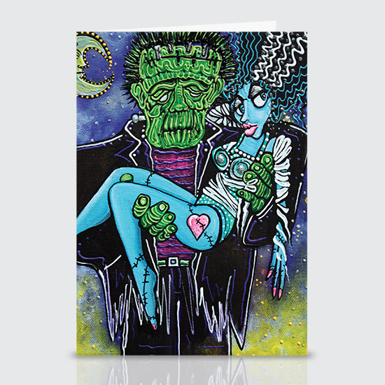 My Monster My Bride - Greeting Cards