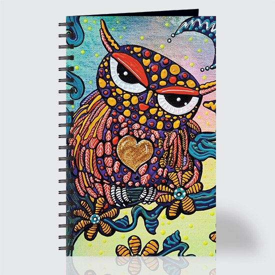 Mystical Owl - Journal - Front
