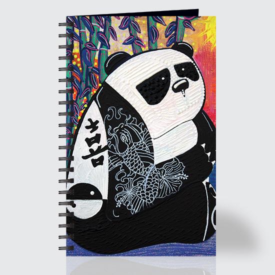Panda Zen Master - Journal - Front