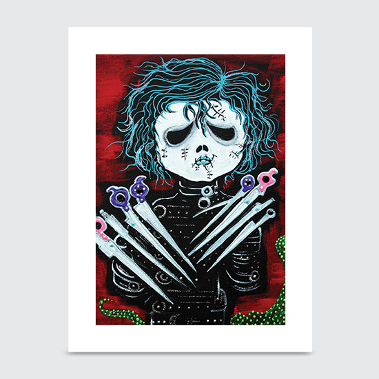 Scissorhands - Art Print