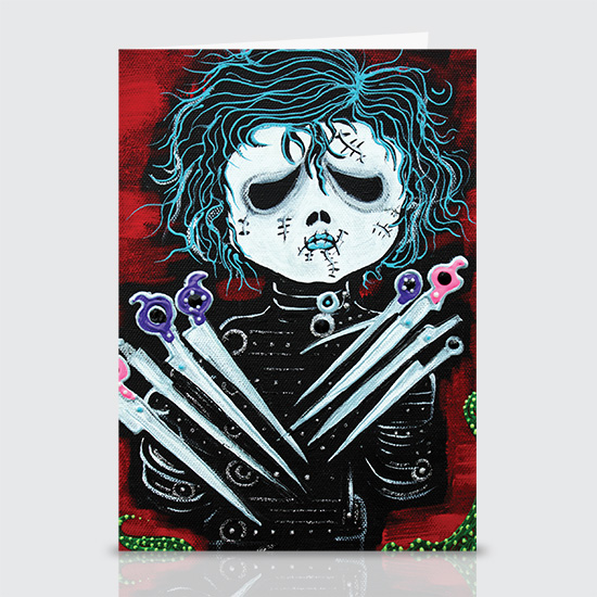 Scissorhands - Greeting Cards