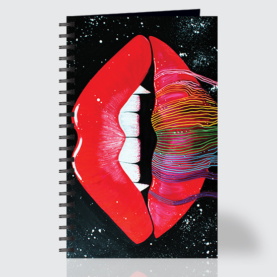 Vampire Rainbow - Journal - Front