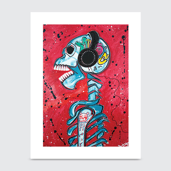 Music is Art - Art Print