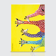 Jelly Bean Giraffe - Greeting Cards