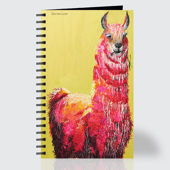 One Hot Llama - Journal - Front