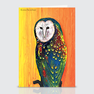 Owl Sunset - Greeting Cards