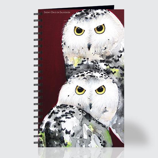Snowy Owl Sauvignon - Journal - Front
