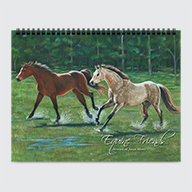 Equine Friends - Calendar - Cover