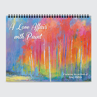 A Love Affair with Paint - Calendar - Cover