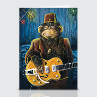 Dustys Gig - Greeting Cards