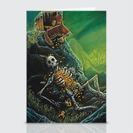 Me Treasure Chest - Greeting Cards