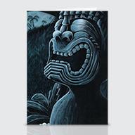 Moonlight On KU - Greeting Cards
