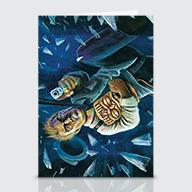 Night Of The Amber Tiki - Greeting Cards