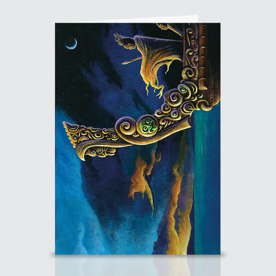 Sky-Father Ignites - Greeting Cards