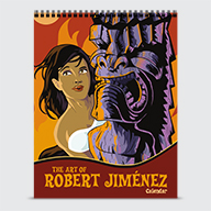 The Art Of Robert Jimenez - Calendar - Cover
