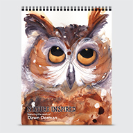 Art of Dawn Derman - Calendar - Cover