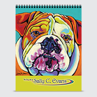 The Art of Sally C. Evans - Calendar - Cover