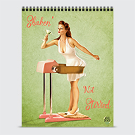 Shaken' Not Stirred - Calendar - Cover