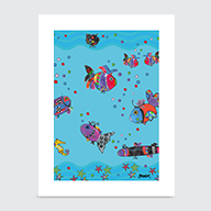 Underwater Adventure - Art Print