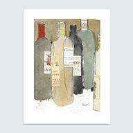 After The Dinner Party - Art Print
