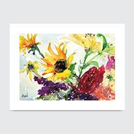 Wild Flowers - Art Print