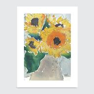 Sunflowers II - Art Print