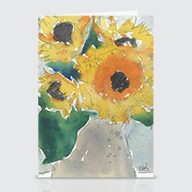 Sunflowers II - Greeting Cards
