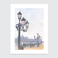 Grand Canal View - Art Print