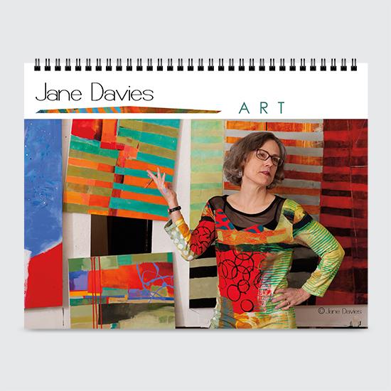 Jane Davies Art - Calendar - Cover