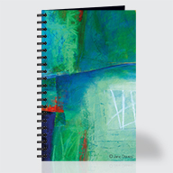 Blue #1 - Journal - Front