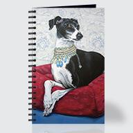 Italian Grayhound - Journal - Front