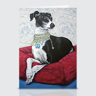 Italian Grayhound - Greeting Cards