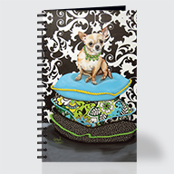 Chihuahua Pillows - Journal - Front