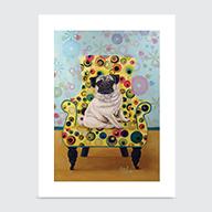 Pug - Art Print