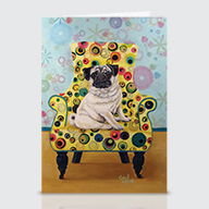 Pug - Greeting Cards