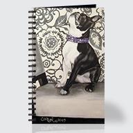 Boston Terrier - Journal - Front