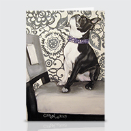 Boston Terrier - Greeting Cards