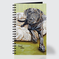 Chocolate Lab - Journal - Front