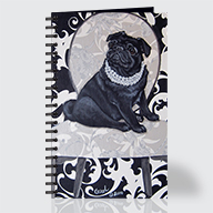 BW Pug - Journal - Front