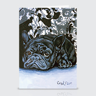 French Bulldog - Greeting Cards