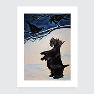 Scottie Crows - Art Print