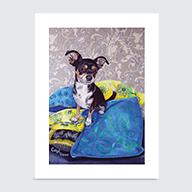 MinPin Chihuahua - Art Print