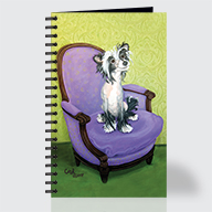 Chinese Crested - Journal - Front