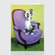 Chinese Crested - Greeting Cards