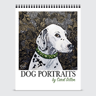 Dog Portraits by Carol Dillon - Calendar - Cover